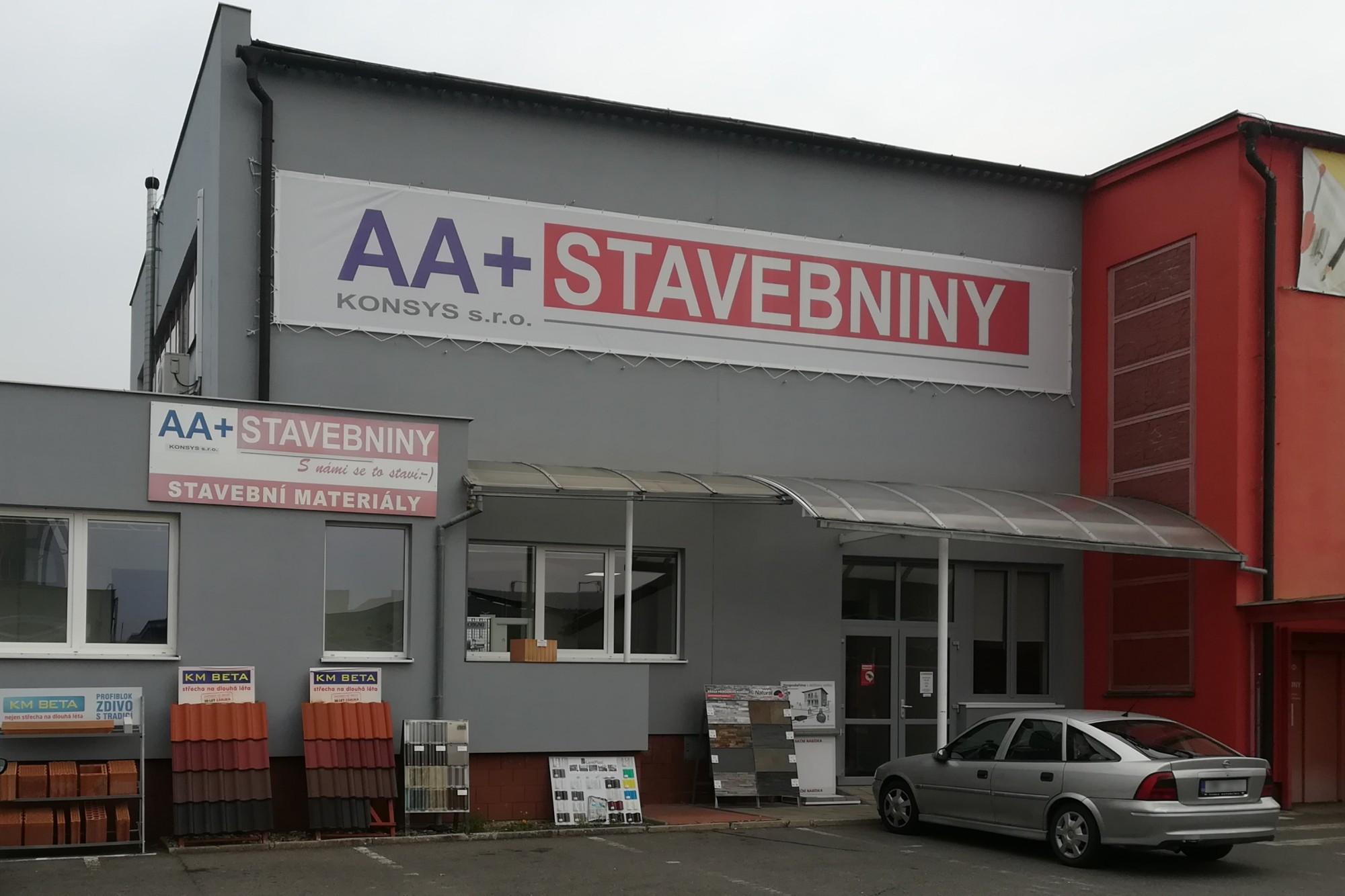 Sběrné místo AA+STAVEBNINY KONSYS s.r.o. - Olomouc