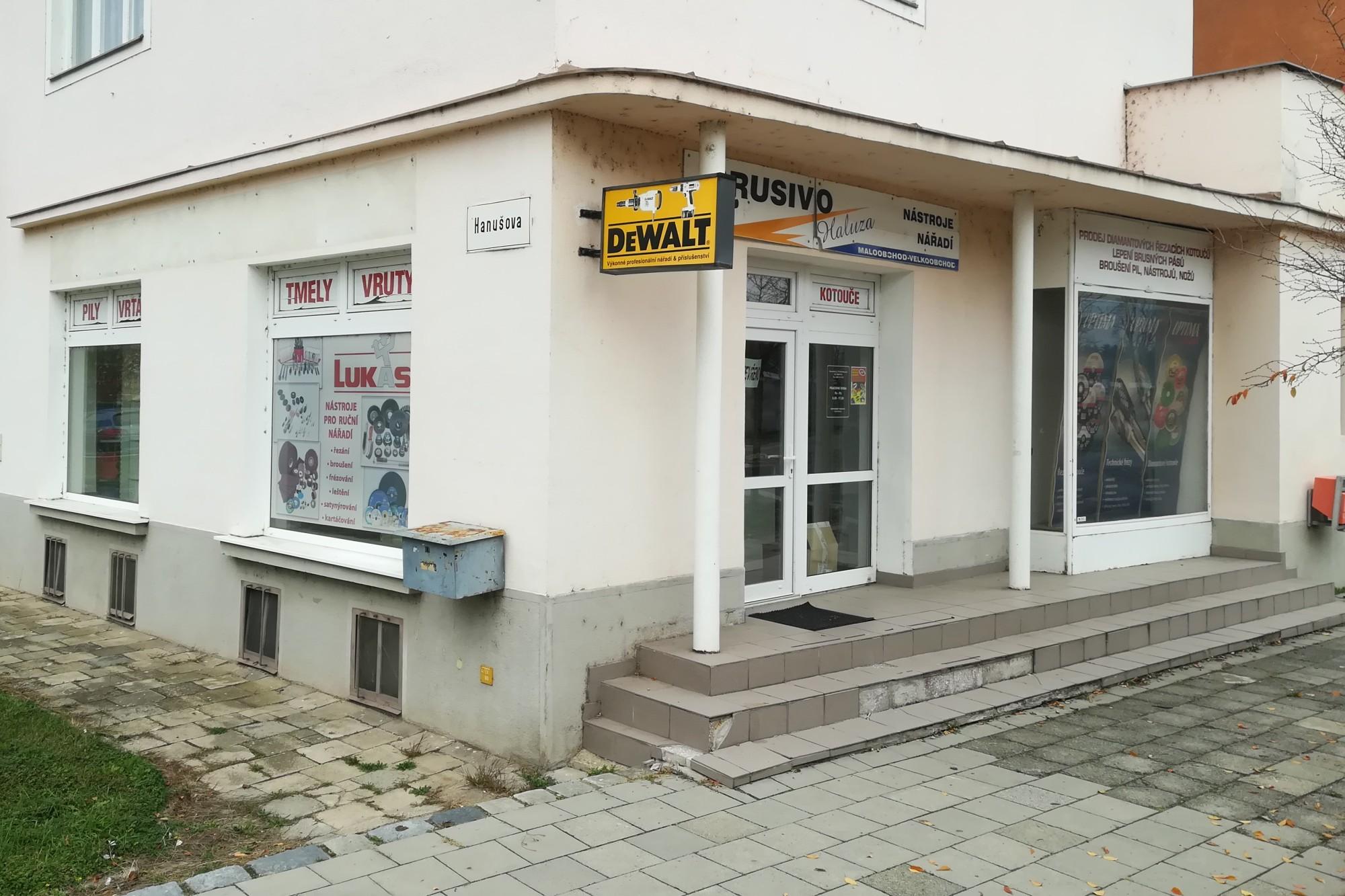 Sběrné místo BRUSIVO HALUZA - Olomouc